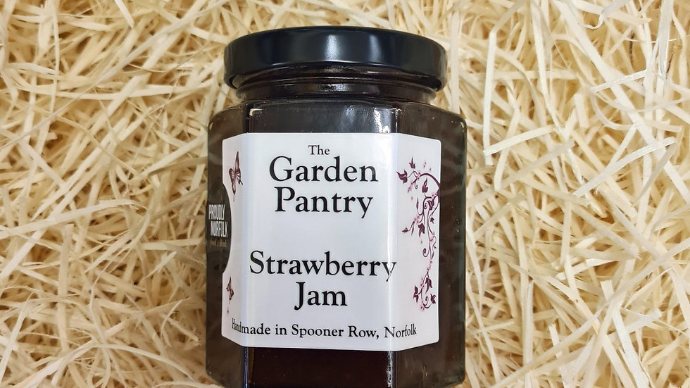 The Garden Pantry Strawberry Jam