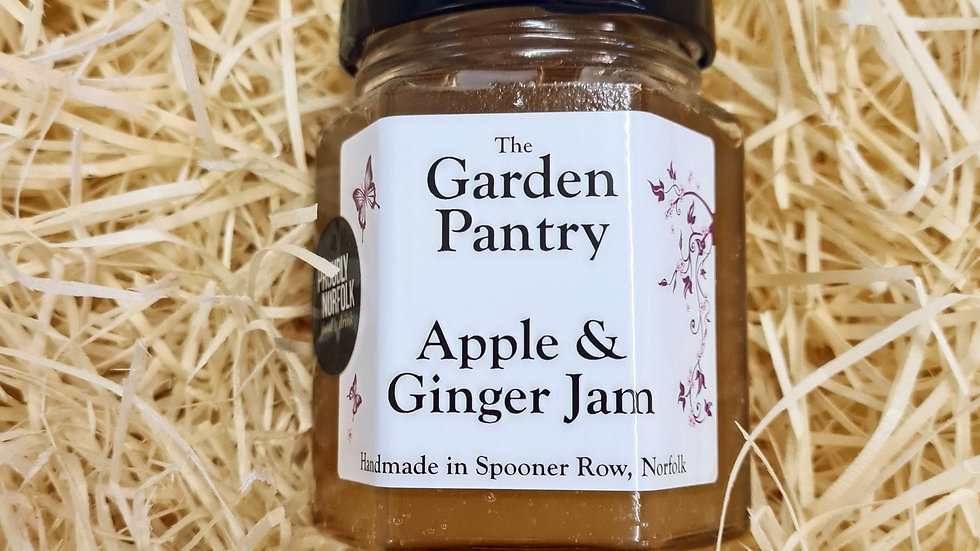 The Garden Pantry Apple and Ginger Jam