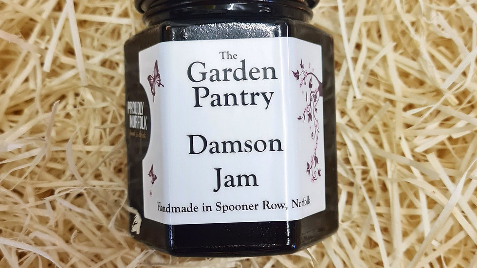 The Garden Pantry Damson Jam