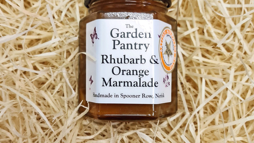The Garden Pantry Rhubarb and Orange Marmalade