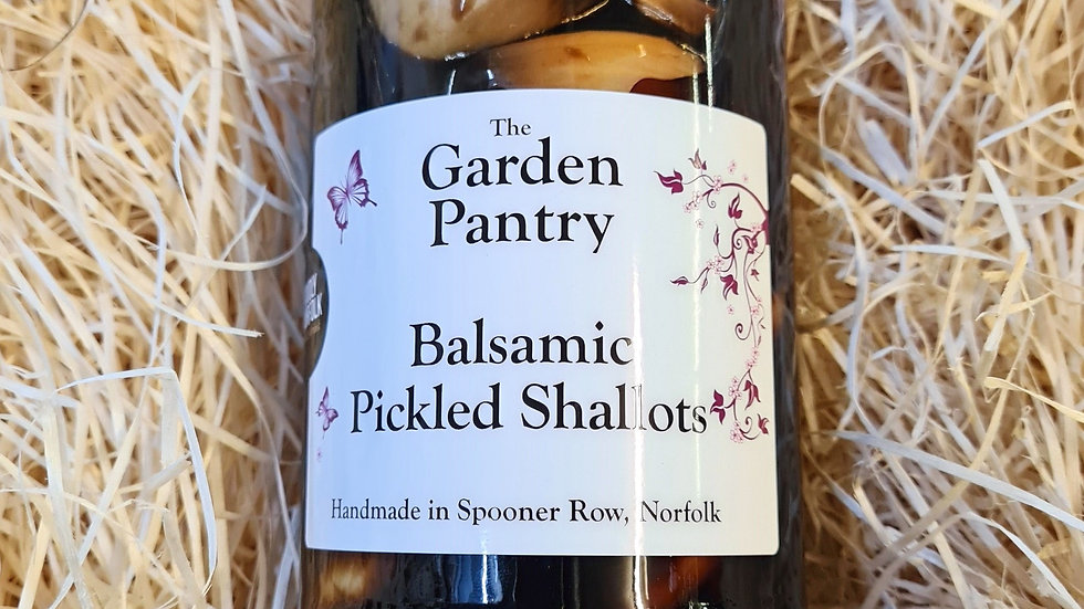 The Garden Pantry Balsamic Pickled Shallots