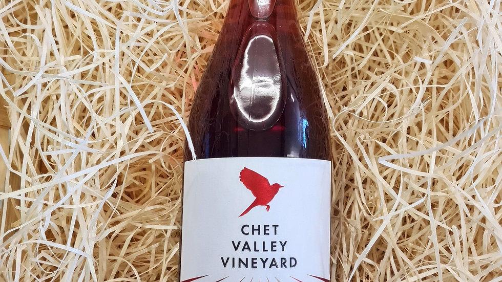 Chet Valley Vineyard Redwing - Regent Rosé Wine 2019
