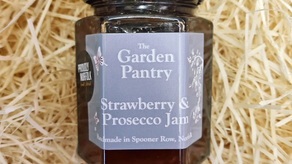 The Garden Pantry Strawberry and Prosecco Jam