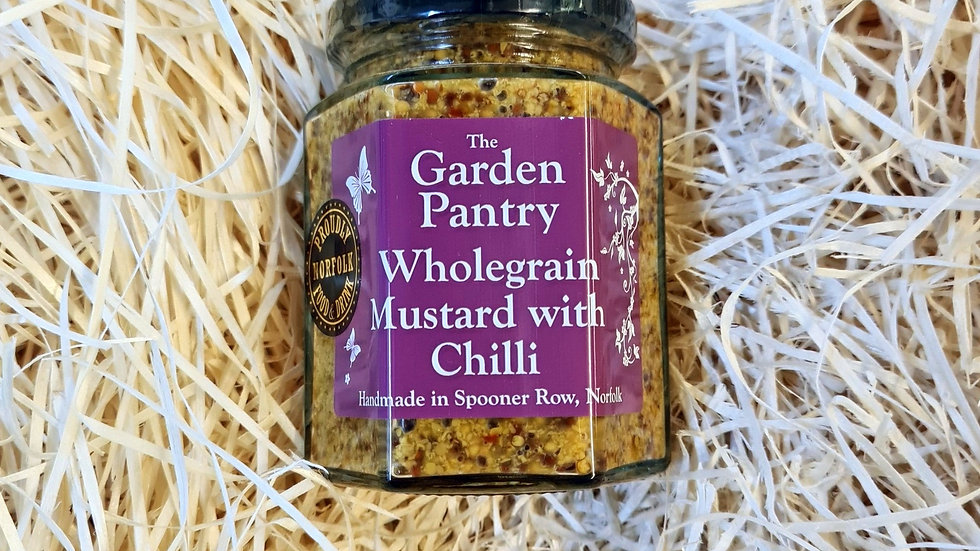 The Garden Pantry Wholegrain Mustard with Chilli