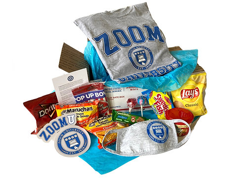 ZoomU T-Shirt Care Package