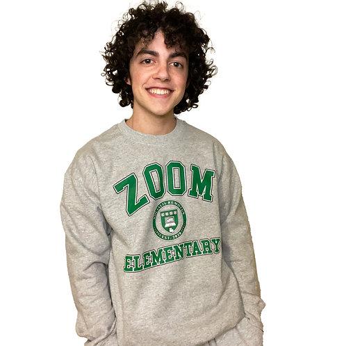 Zoom Elementary Adult Sweatshirt