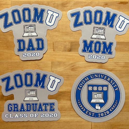 Zoom University Stickers
