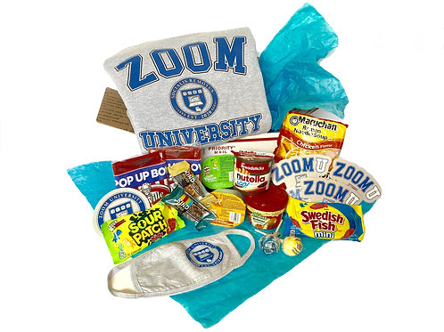 ZoomU Sweatshirt Care Package