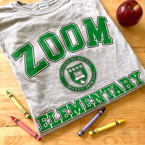 Zoom Elementary Adult T-Shirt