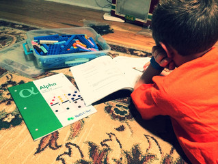 My current homeschool curriculum: Math