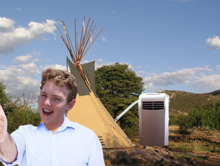 CST #600: Air-conditioned Tee-pee