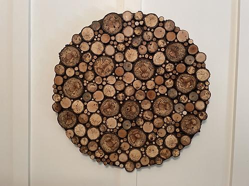 Tree Rounds Wall Art