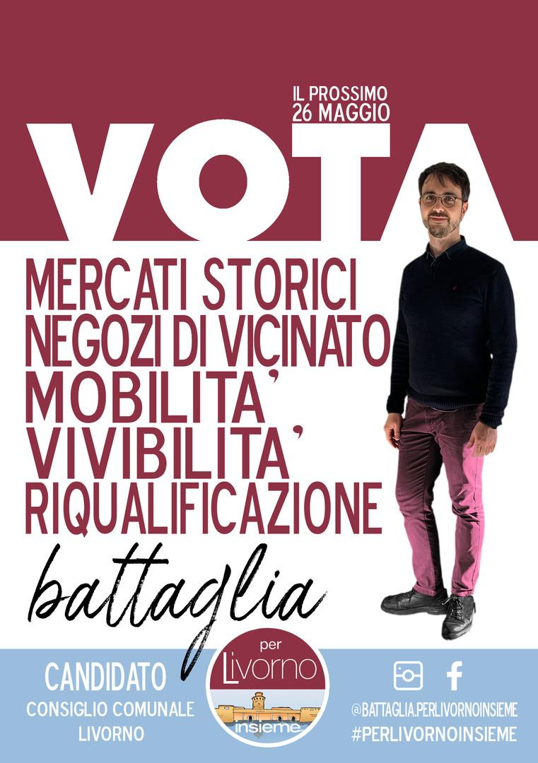 Locandina Battaglia