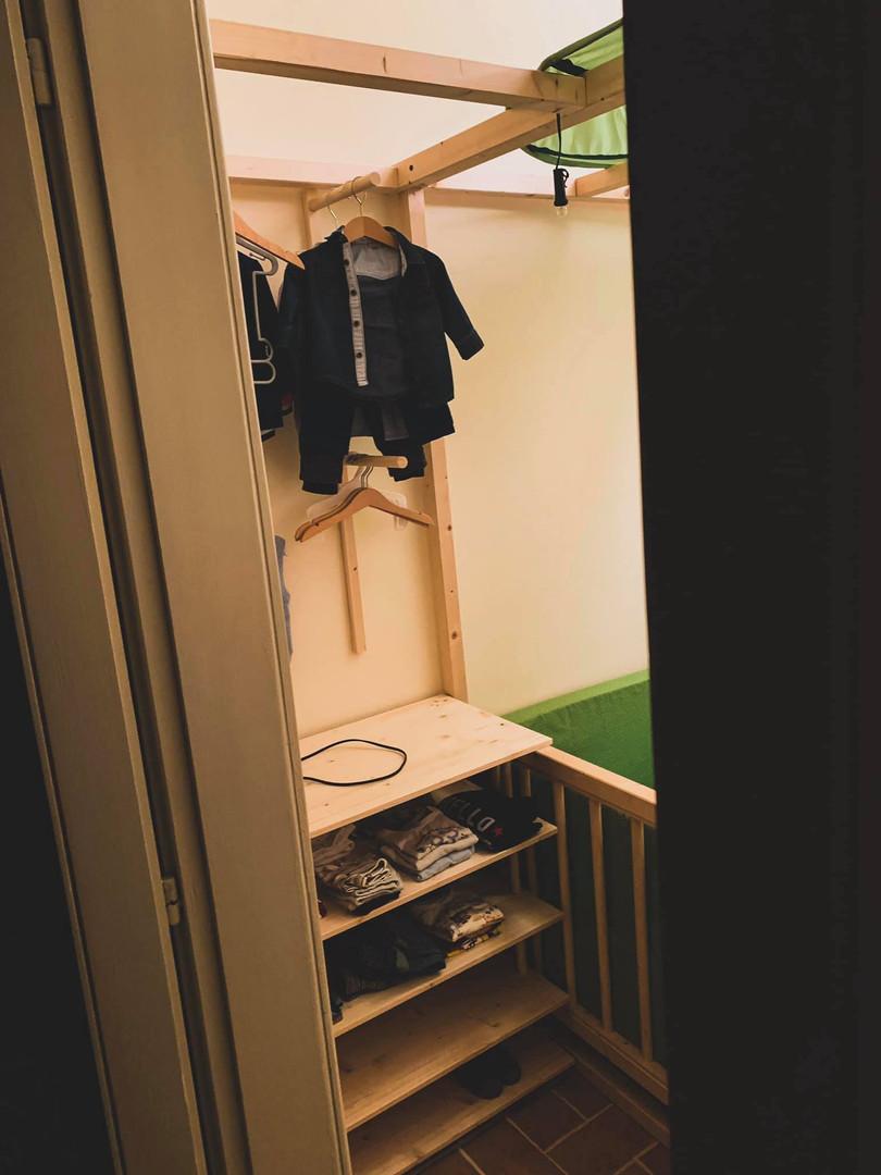 La Tana di Edo - armadio