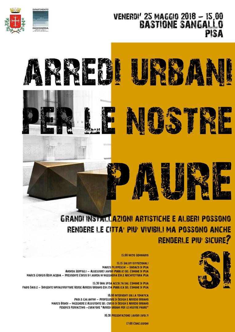 Arredo Urbani Antiterrorismo