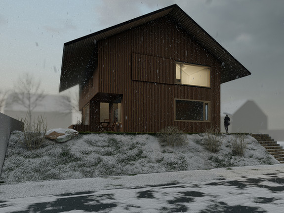 Dům v satelitu