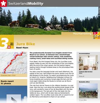 Jura MTB route #3