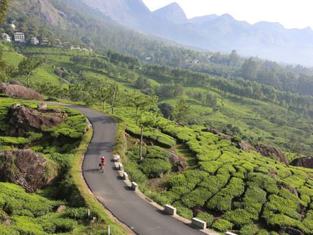 Fietsen door Kerala