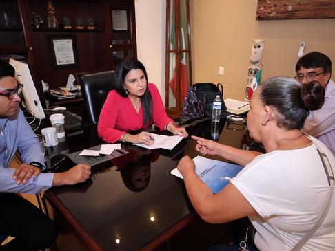 Inquebrantable el compromiso de la alcaldesa Armida Castro con la ciudadanía de CSL