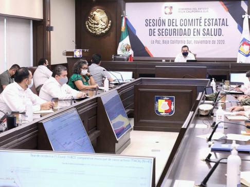 FORTALECERÁN MEDIDAS SANITARIAS EN BCS DURANTE FECHAS DECEMBRINAS