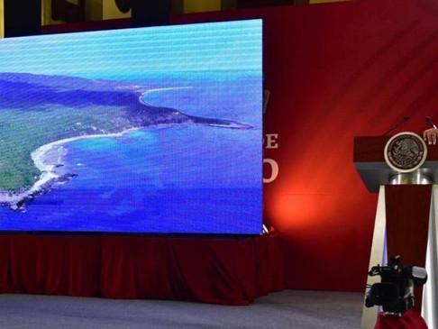 AMLO conmemora 100 días de gobierno con el cierre del penal en Islas Marías