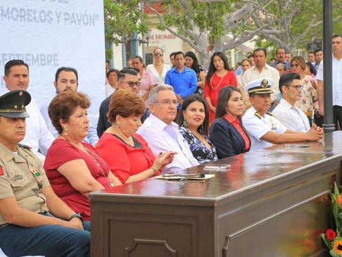Clausura XIII Ayuntamiento actividades alusivas al Mes de la Patria