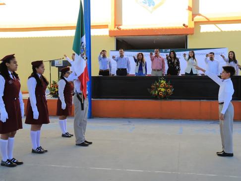 En acto cívico conmemoran 172º Aniversario Luctuoso del Teniente José Antonio Mijares