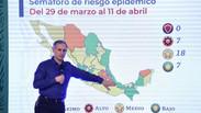 Actualización del Semáforo de Alerta Covid-19 en México del 29 de marzo al 11 de abril