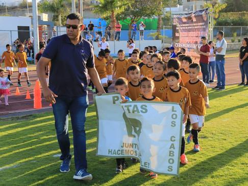 Deportistas y estudiantes  en general han sido beneficiados  durante el 1º año de Gobiern