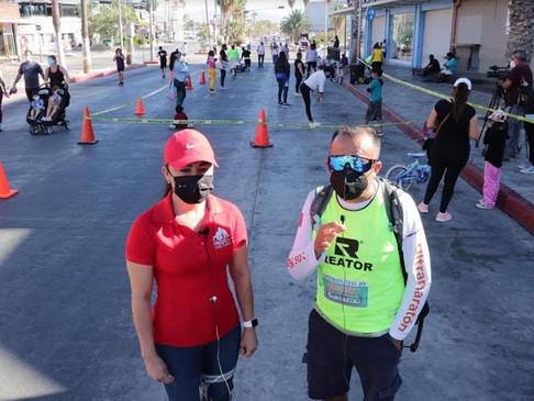 Después de un año de suspensión abren ciclovía de Cabo San Lucas