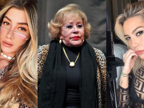 Frida Sofía asegura que Michelle Salas robaba dinero a Silvia Pinal