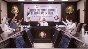 CONTINUARÁ BCS EN SEMÁFORO AMARILLO DURANTE SEMANA SANTA