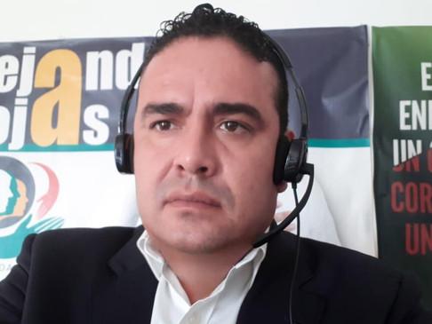 Actores políticos siguen poniendo en riesgo a los ciudadanos; Alejandro Rojas
