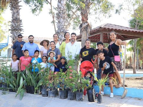 Gracias a la XIII Administración más de 2 mil 500 especies se han plantado en el Municipio