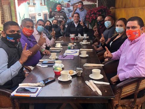 Suman en unidad en Movimiento Ciudadano en favor de Alejandro Rojas en Los Cabos