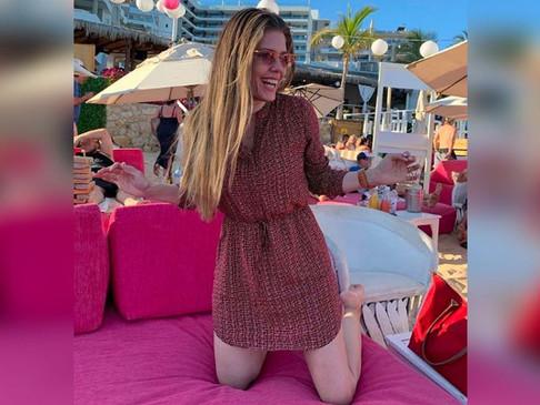 Villana de Betty La Fea disfrutó de un día de sol en Cabo San Lucas