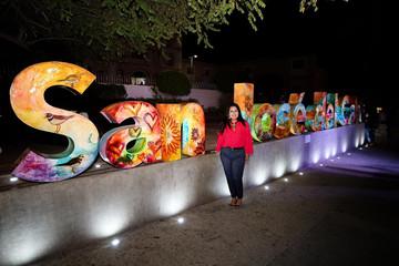 Develan letras emblemáticas de San José del Cabo