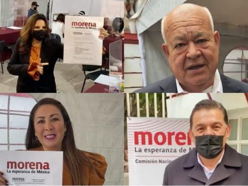 El día de hoy Morena levantara la mano a su candidato a Gobernador por BCS.