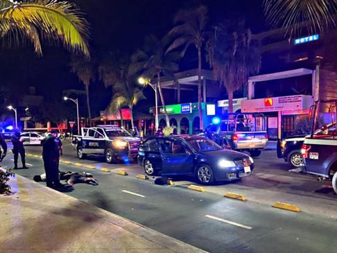 Detuvieron a 3 militares en pleno malecón de La Paz; presuntamente accionaron un arma