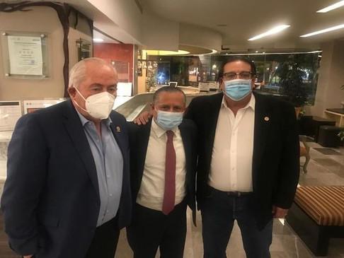 Leonel Cota se suma al proyecto político del Dr. Ernesto Ibarra Montoya