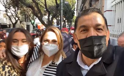 Se registra Rubén Muñoz como pre candidato a la Gubernatura por Morena, a un NO RENUNCIA