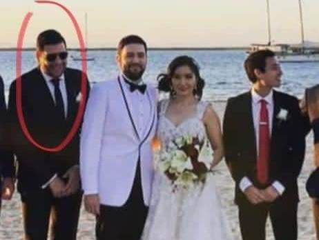 Hijo de Leonel Cota Padrino de boda  Covid Clausurada en La Paz.