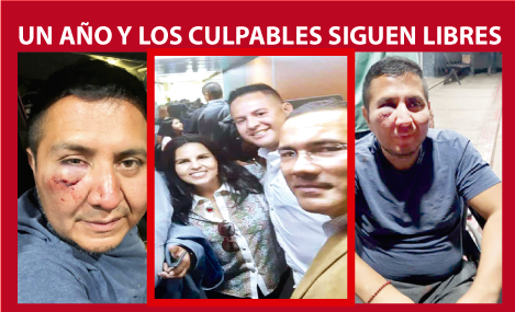 Un año del secuestro e intento de asesinato del Periodista Cris Percovich, No existen detenidos.