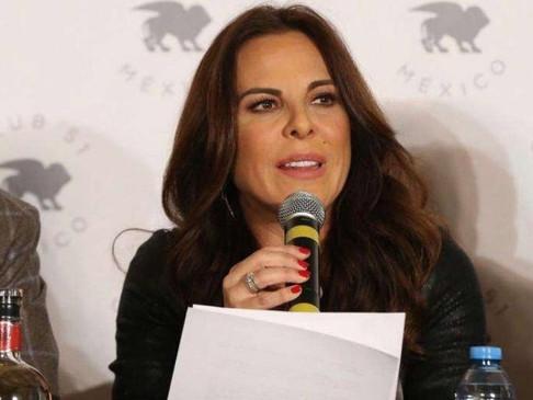 Kate del Castillo dice que está en la quiebra por 'Chapo'