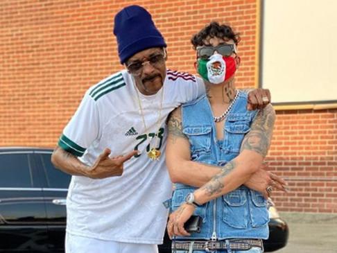 Rapero de BCS estrenó canción grabada con Snoop Dogg, ya rebasa 5 millones de reproducciones.