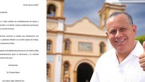 Valora Ernesto Ibarra que decisiones tomar para su proyecto político.