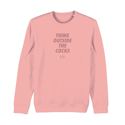 « Think outside the cocks » Sweatshirt VOXXX