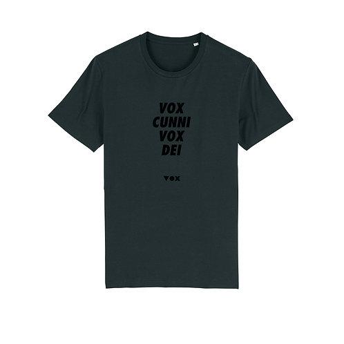 «Voxcunnivoxdei»  T‑shirtVOXXX