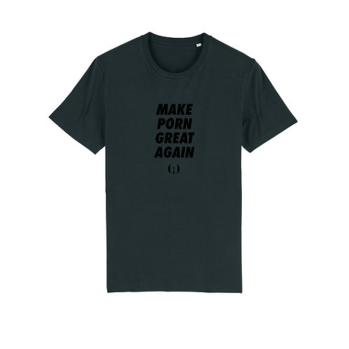 « Make porn great again »  T‑shirt Olympe de G.