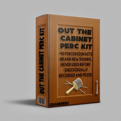 OUT THE CABINET Percussion Kit